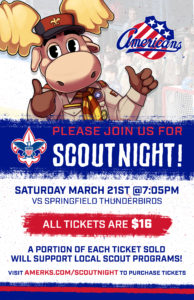 CANCELLED - Amerks Scout Night @ Blue Cross Arena
