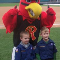 Red Wings Scout Night @ Frontier Field